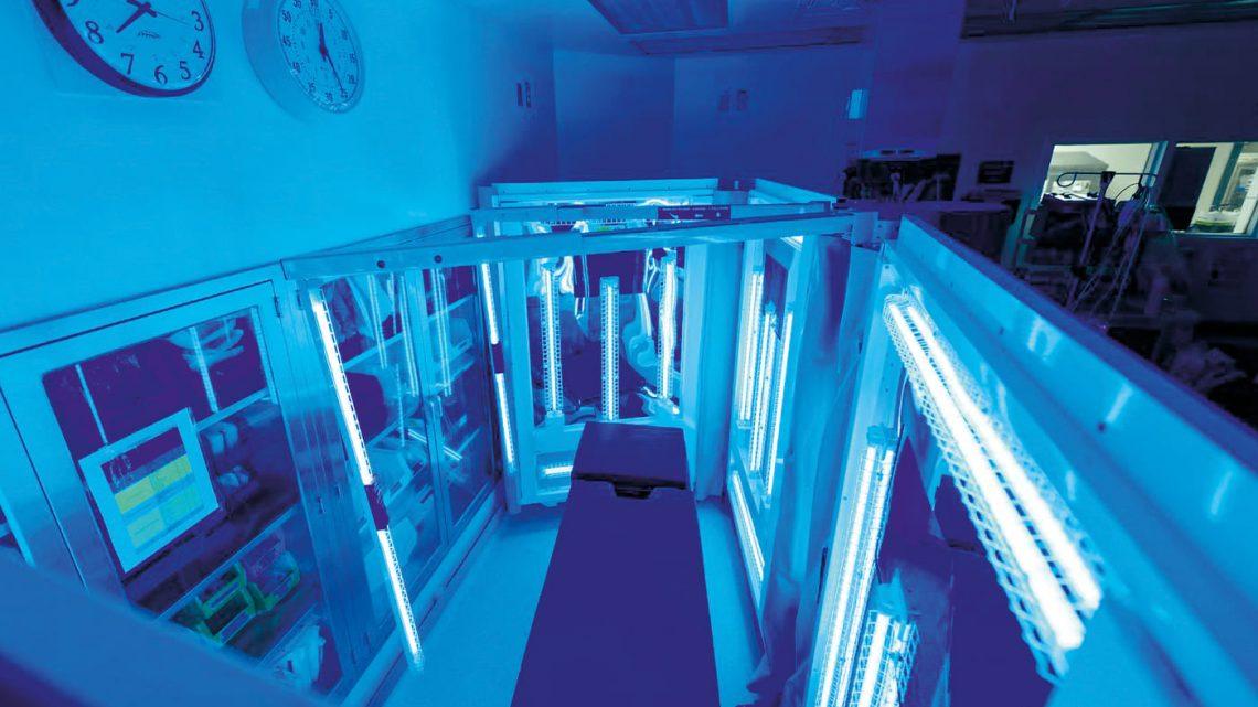 Une désinfection efficace de toutes les surfaces grâce au rayonnement UVC